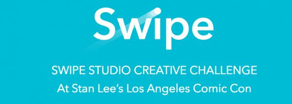 Groundbreaking SWIPE Graphics/Animation Design Platform Launches Swipe Studio Creative Challenge At Stan Lee's Los Angeles Comic Con