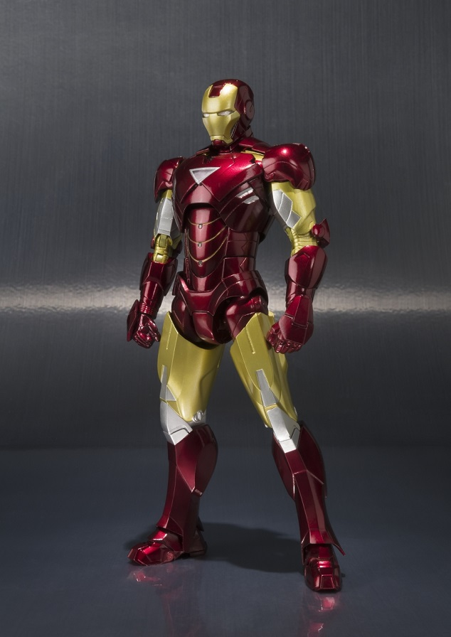 Bluefin Opens Pre-Orders for Impressive New Tamashii Nations S.H. Figuarts Iron Man Mark VI & Hall of Armor Set