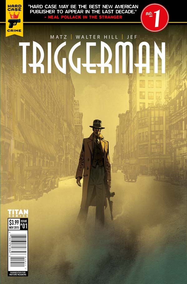 Triggerman #1 Review: Old Fashioned Pulp Greatness