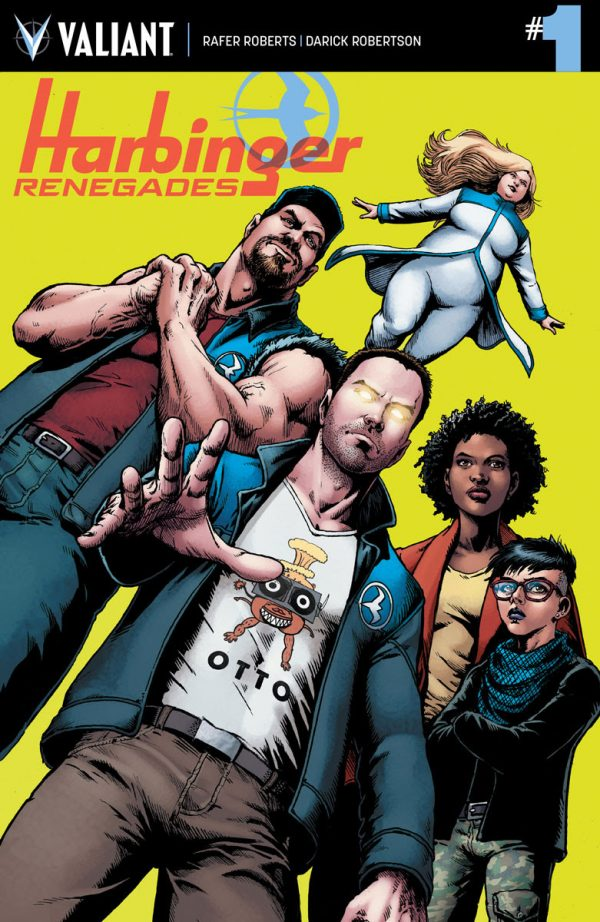 Harbinger Renegades #1 Review: The Boys (and Girls) Are Back in Town
