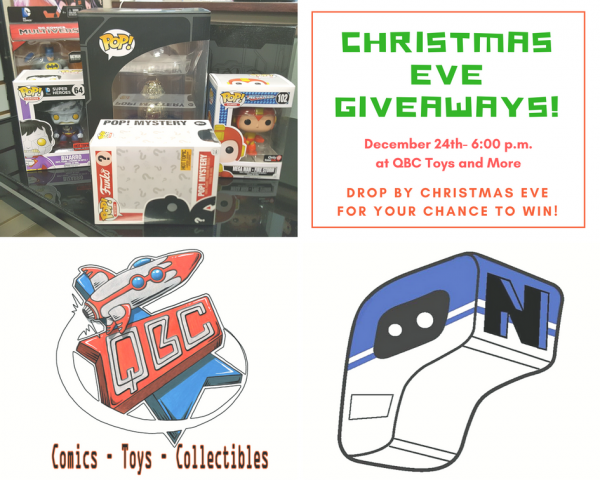 Five Days of Christmas Giveaways Becomes a Christmas Eve Giveaway!