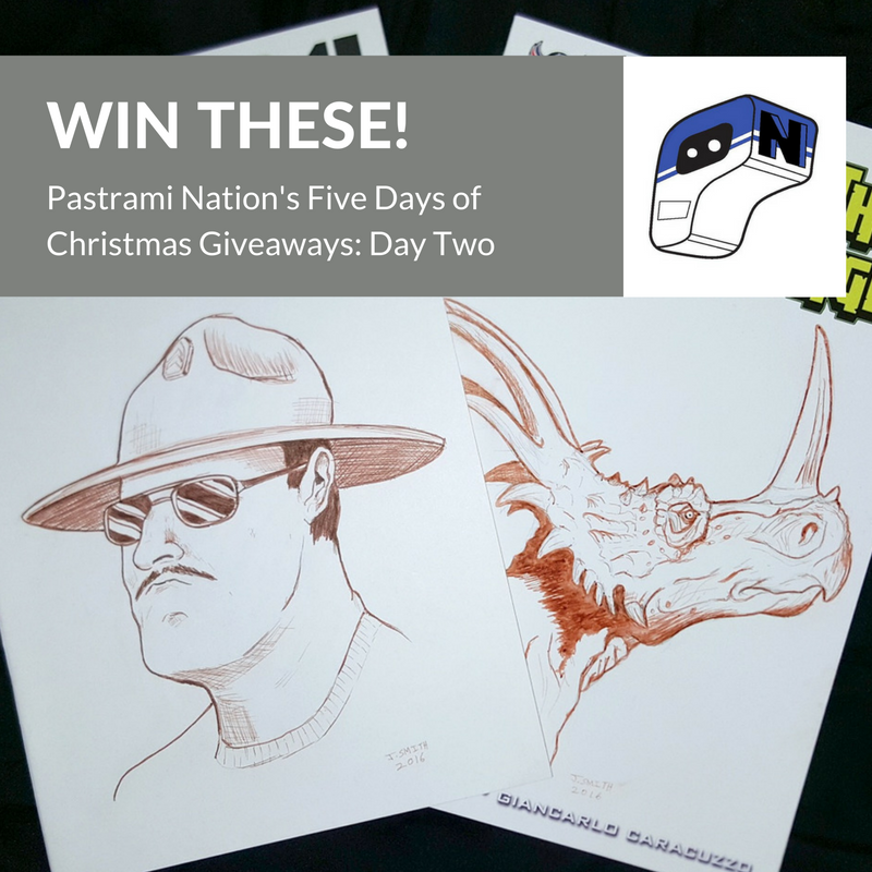 Five Days of Christmas Giveaways- Day Two: Two Custom Sketch Covers