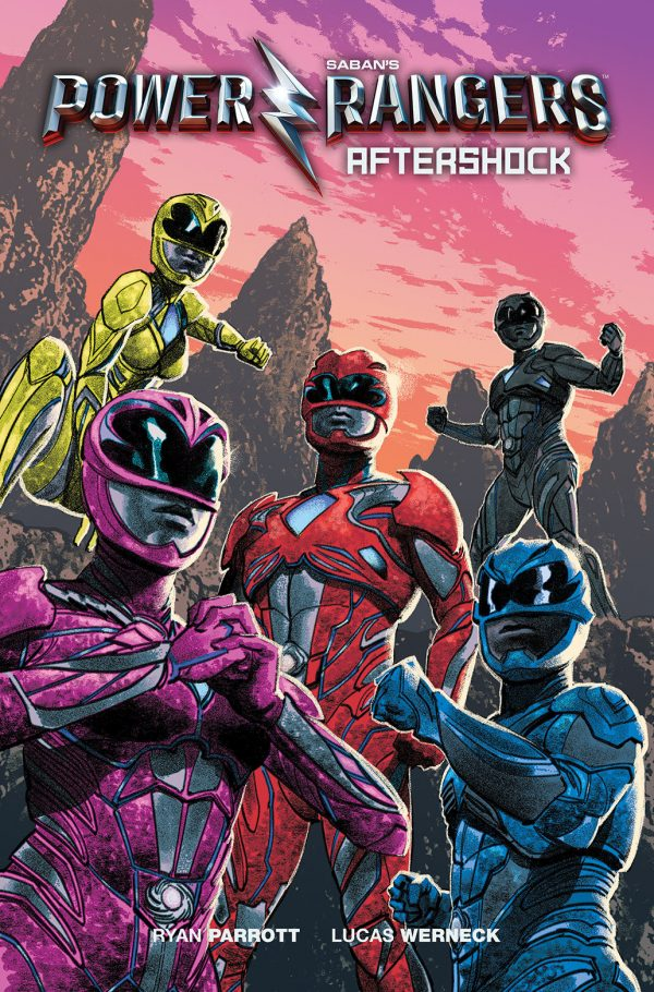 Saban's Power Rangers: Aftershock Original Graphic Novel Picks Up Where Film Leaves Off