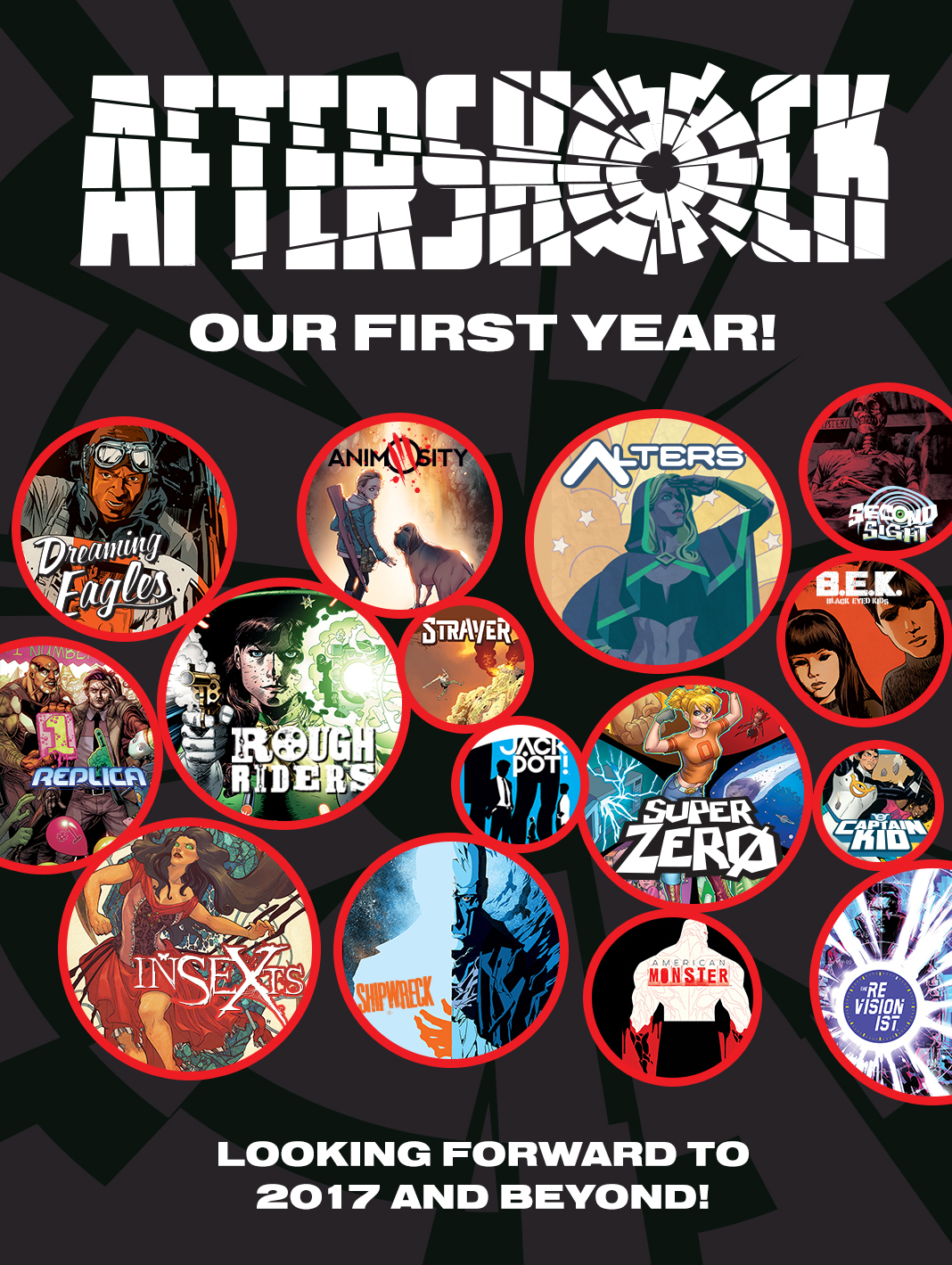 AfterShock Comics Set to Expand Titles After Successful 2016; New Series in the Works with Garth Ennis