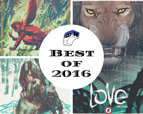 Best of 2016- Comic Books