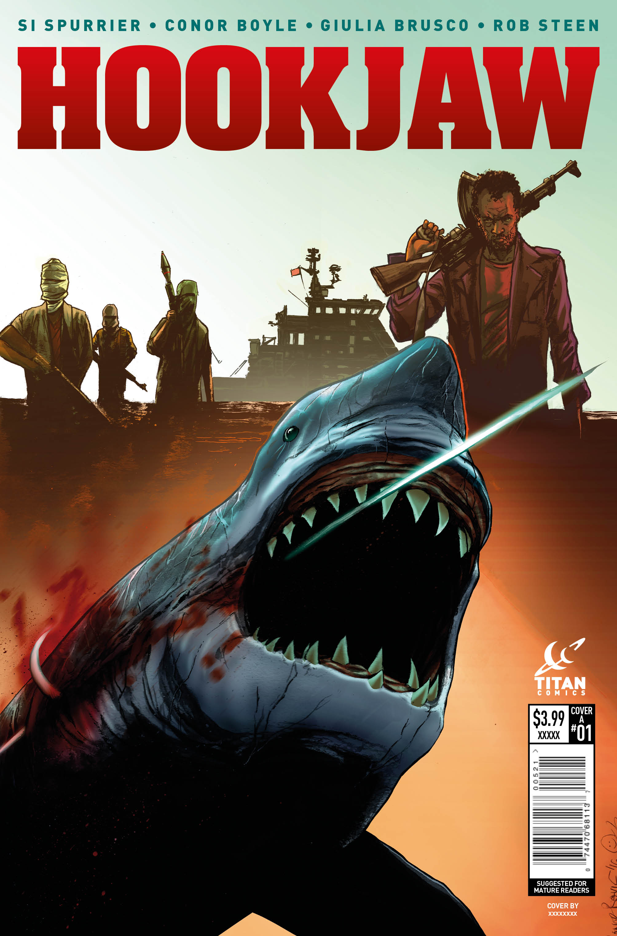 Hook Jaw #1 Review: Something to Fear Now