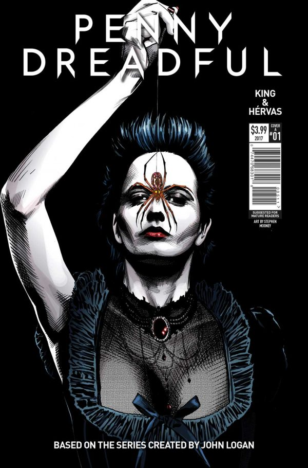 Penny Dreadful #1: Covers revealed! Set six months after the smash hit TV series finale!