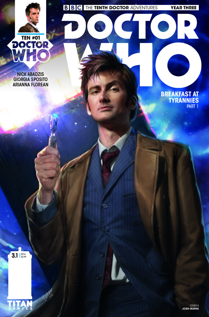 Doctor Who The Tenth Doctor #3.1 Review: Breakfast at Tyrannies