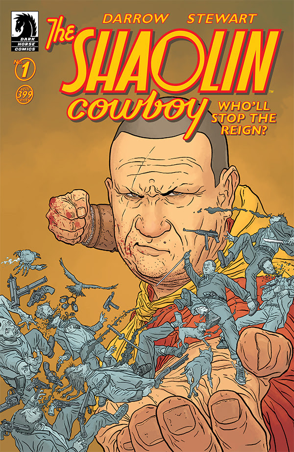 Legendary Writer/Artist Geof Darrow's Shaolin Cowboy Returns in 2017