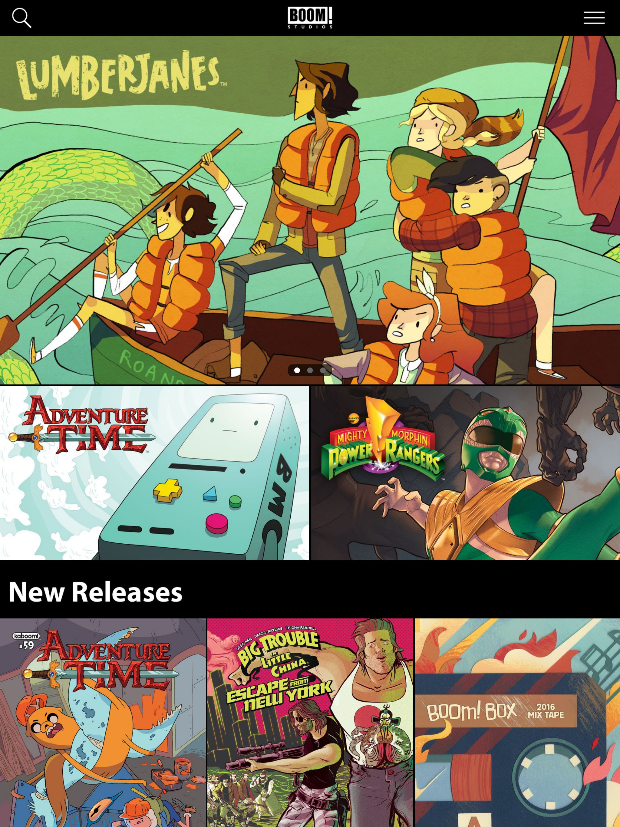 BOOM! Studios and Madefire Launch BOOM! Studios App