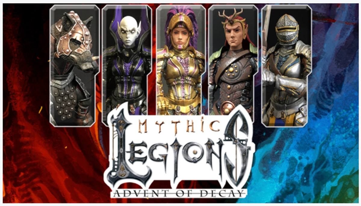 Let's Kickstart This! Mythic Legions: Advent of Decay Action Figures