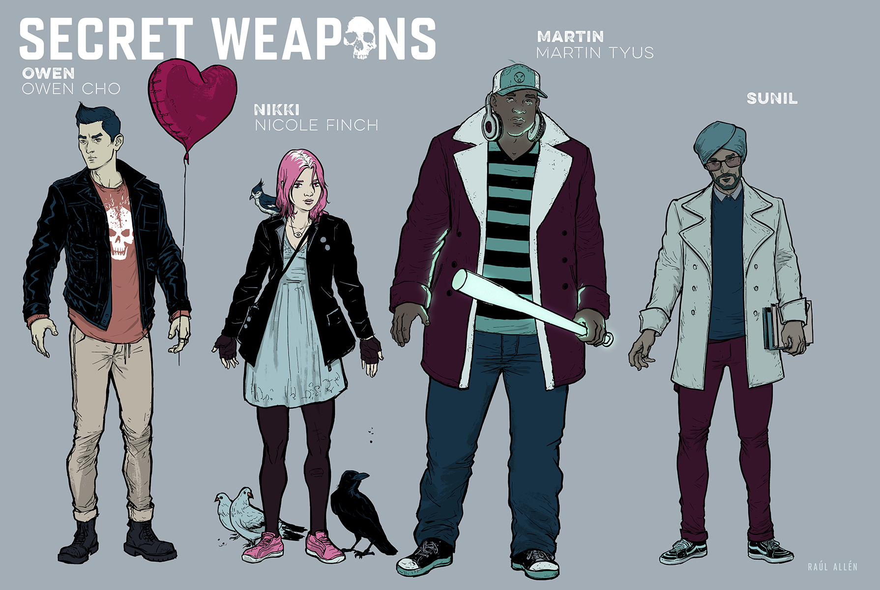 Arrival's Eric Heisserer Leads Valiant's Secret Weapons #1 with Visionary Artist Raul Allen – Coming in June