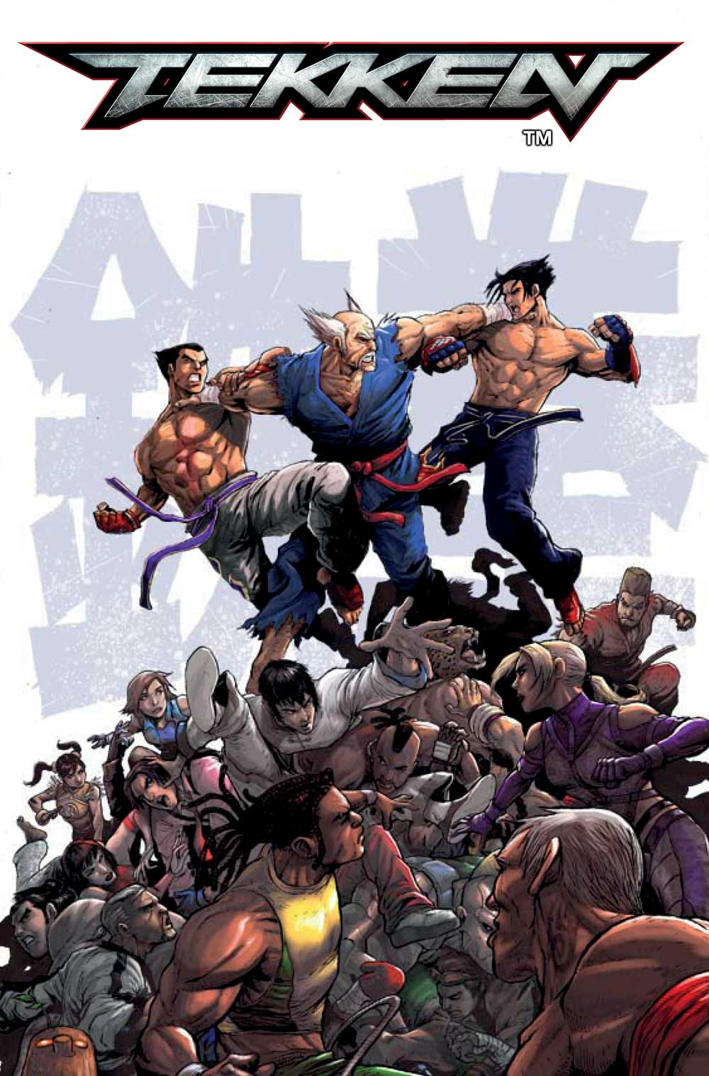 Titan Comics Reveals Creative Team for New Tekken Series