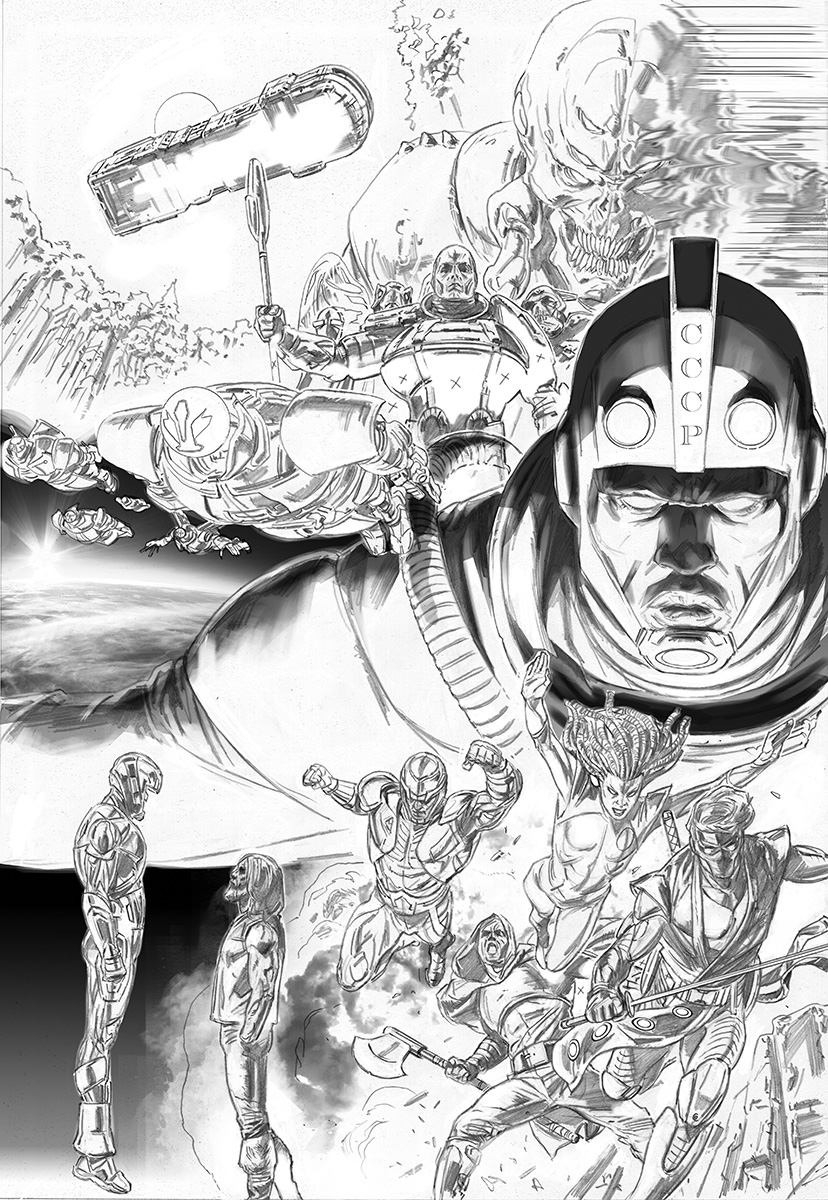 ComicsPRO 2017: Valiant Previews First Year of Matt Kindt's X-O MANOWAR with Tomas Giorello, Doug Braithwaite, and Clayton Crain