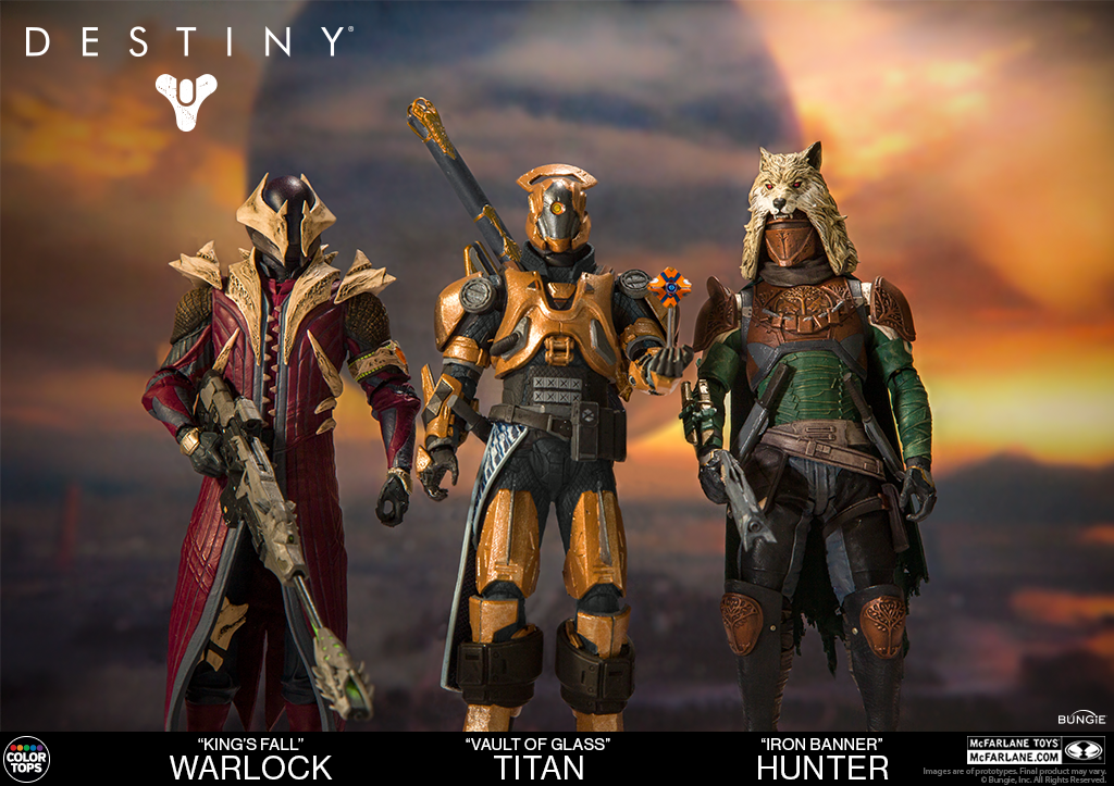 McFarlane Toys Links Up with Bungie to Become Legend and Create Toys Based Off The Smash Hit Video Game Destiny