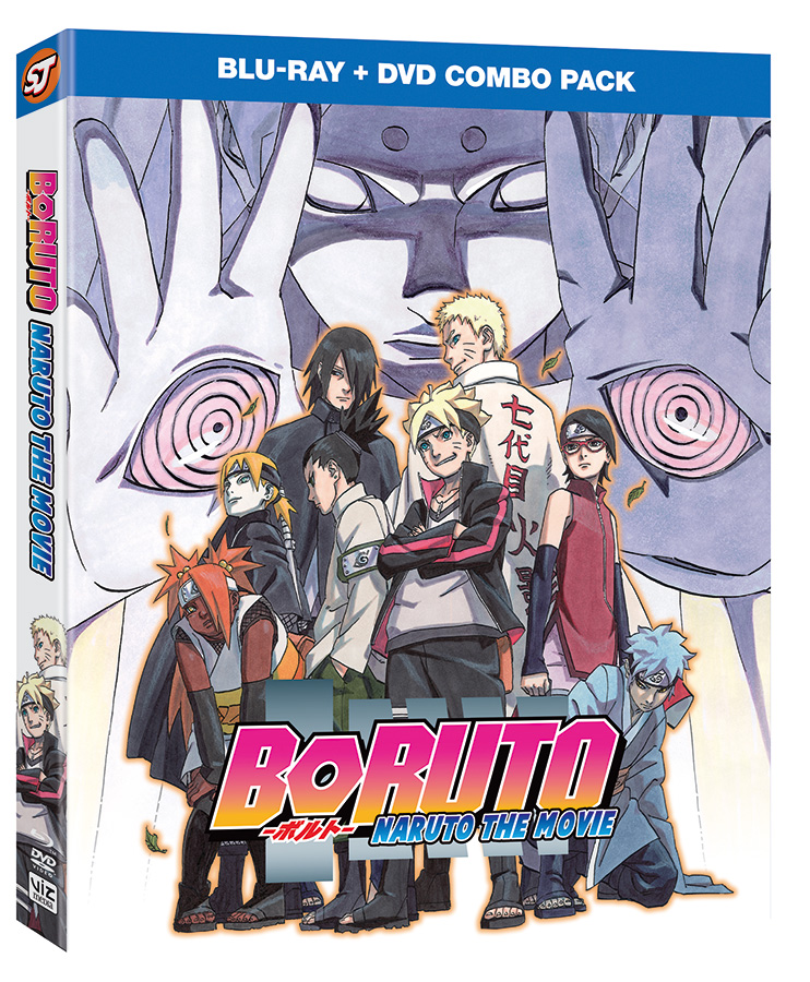 VIZ Media Announces Boruto Movie Home Media & Manga Series Debut