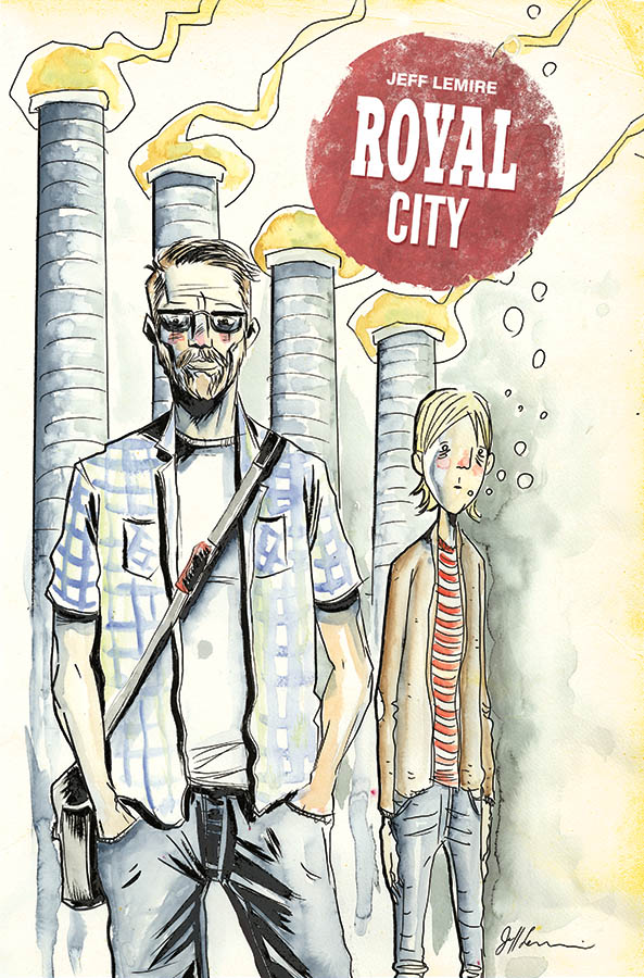 Royal City #1 Review- Ghosts of Our Past