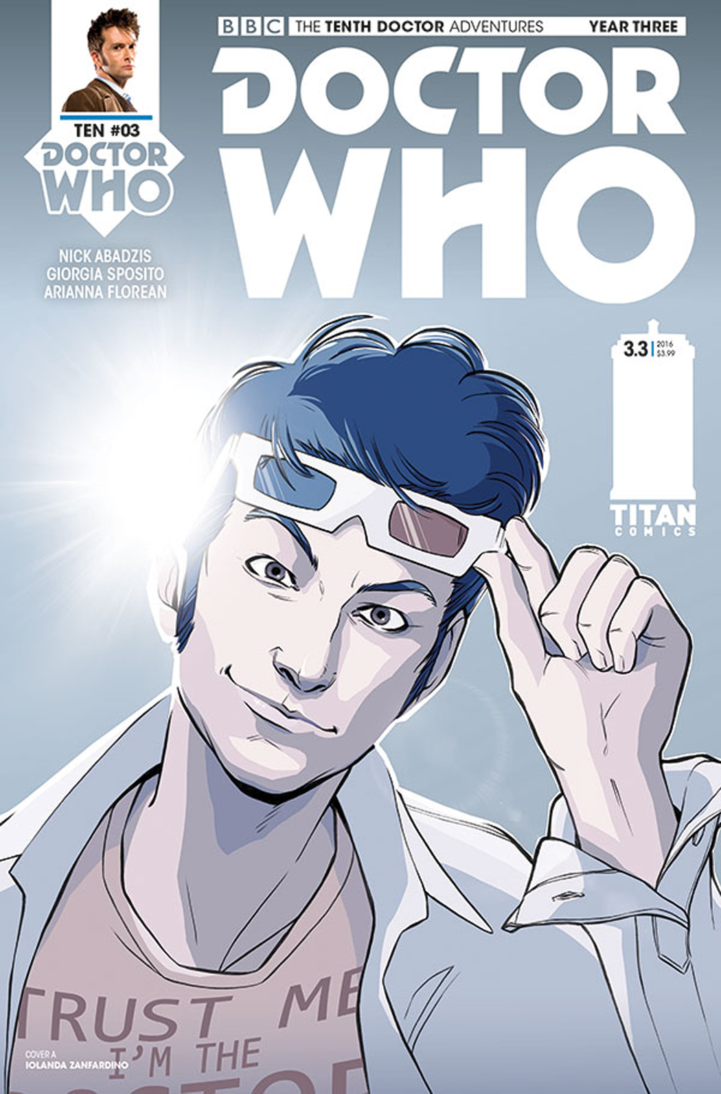 Doctor Who- The Tenth Doctor #3.3 Review: The Red Menace