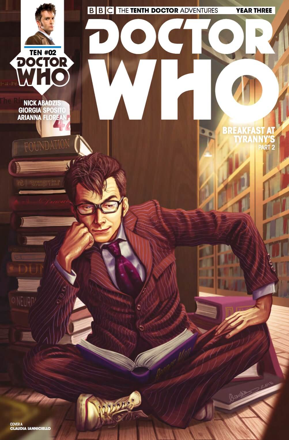 Doctor Who: The Tenth Doctor #3.2 Review: Dreams to Nightmares