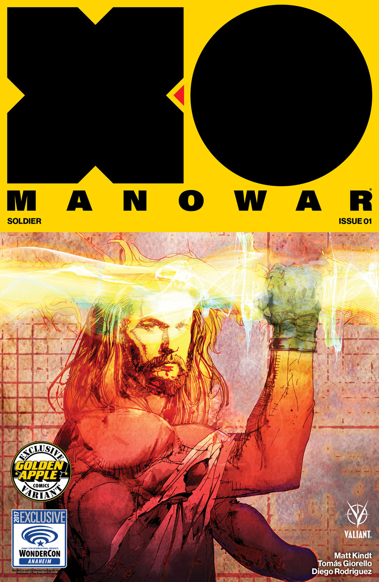 WonderCon 2017- Valiant Brings X-O Manowar, Secret Weapons, and More to Anaheim with Panels, Signings, and Exclusives