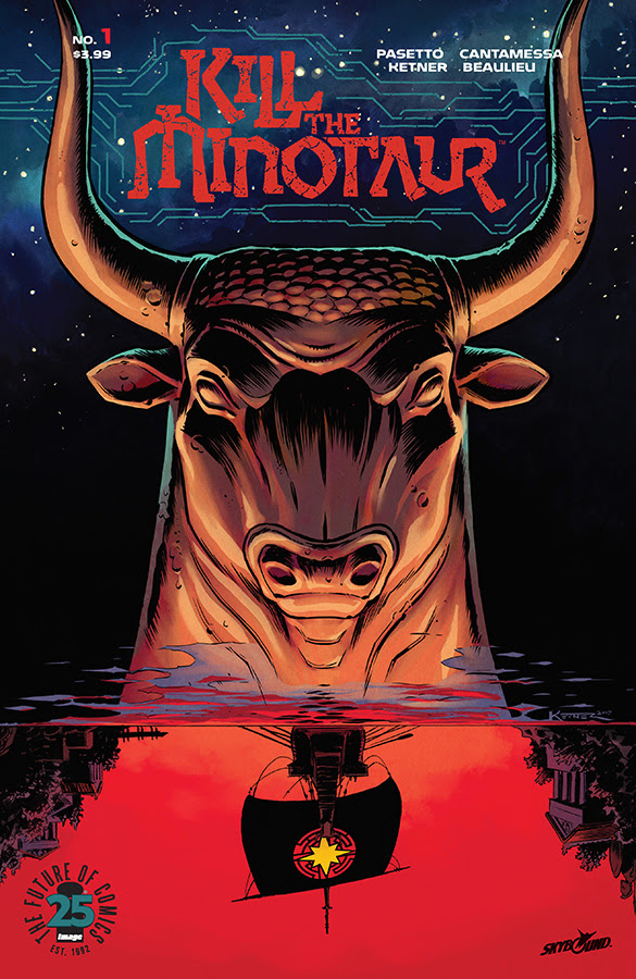 Kill the Minotaur, an all-new tale of heroism and horror, hits stores this June