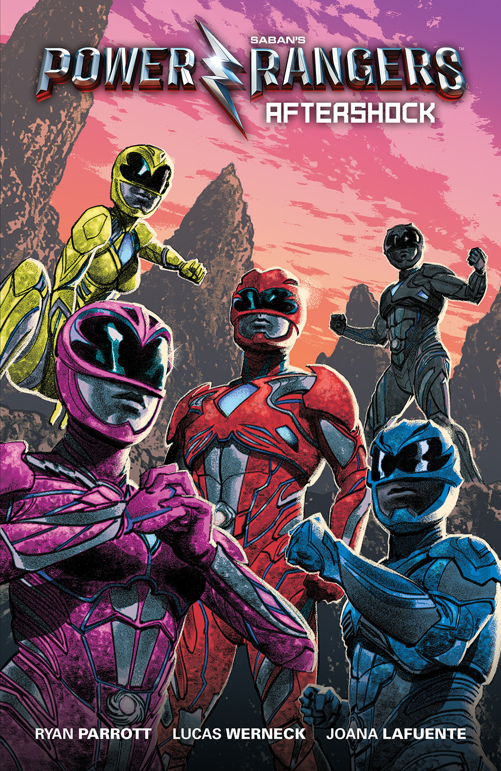 BOOM! Studios Unveils First Look at 'Saban's Power Rangers: Aftershock' Original Graphic Novel