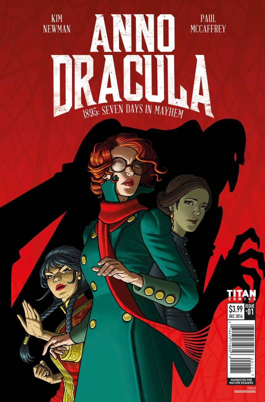 Anno Dracula #1 Review: Steampunk With Fangs