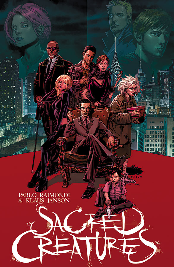 Image Comics to Launch Sacred Creatures This Summer