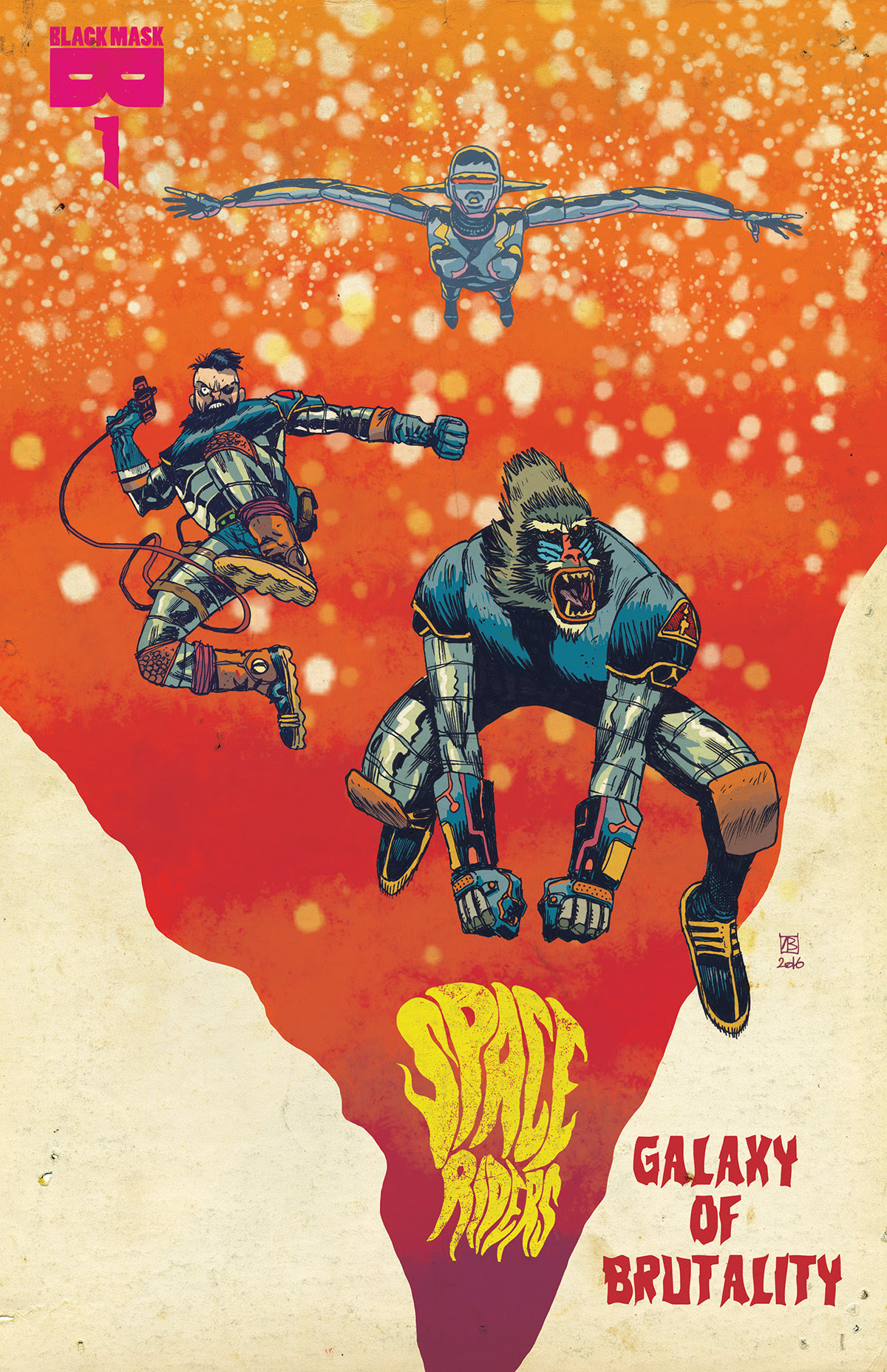 Space Riders Sold Out! Reprint coming for Galaxy Of Brutality #1