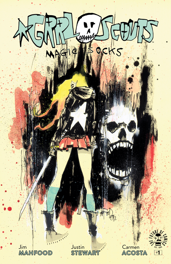 Grrl Scouts: Magic Socks #1 Review