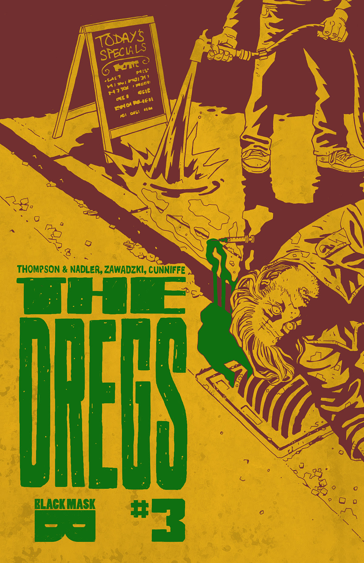 In Stores This Week: A hero with no future. THE DREGS returns with issue 3
