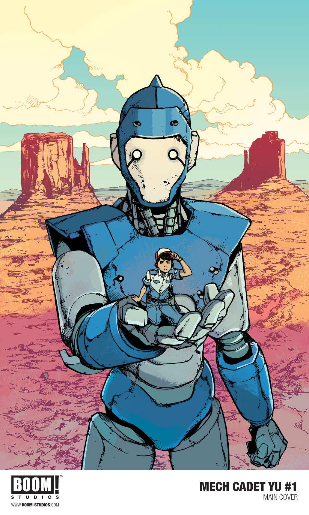 BOOM! Studios Announces 'Mech Cadet Yu' from Greg Pak and Takeshi Miyazawa