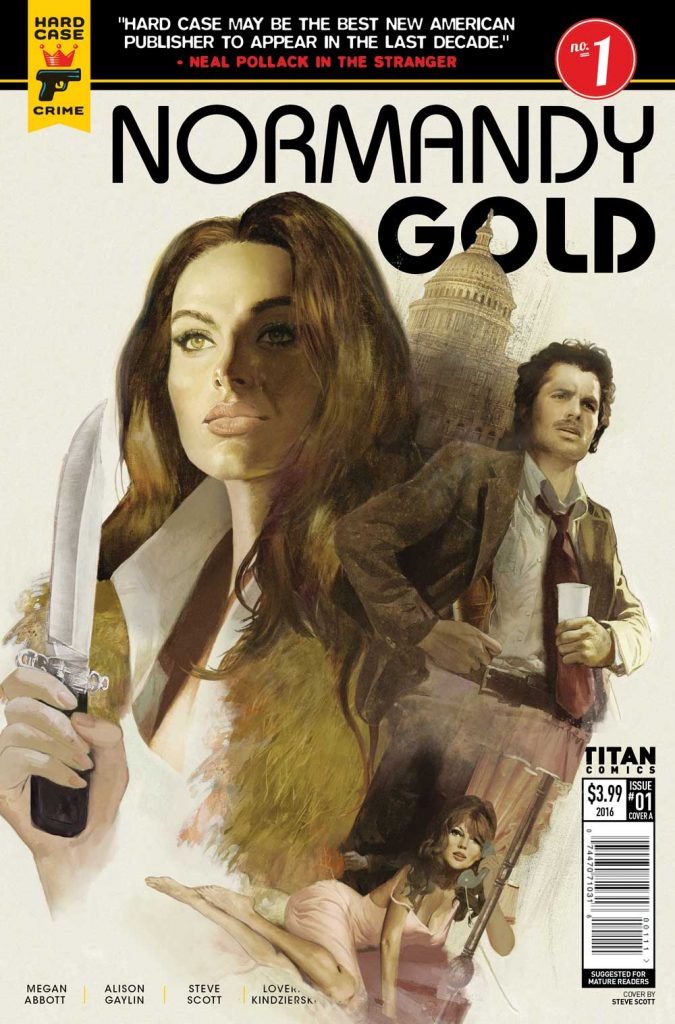 Normandy Gold #1 Review: The Dark Battle of Normandy Gold