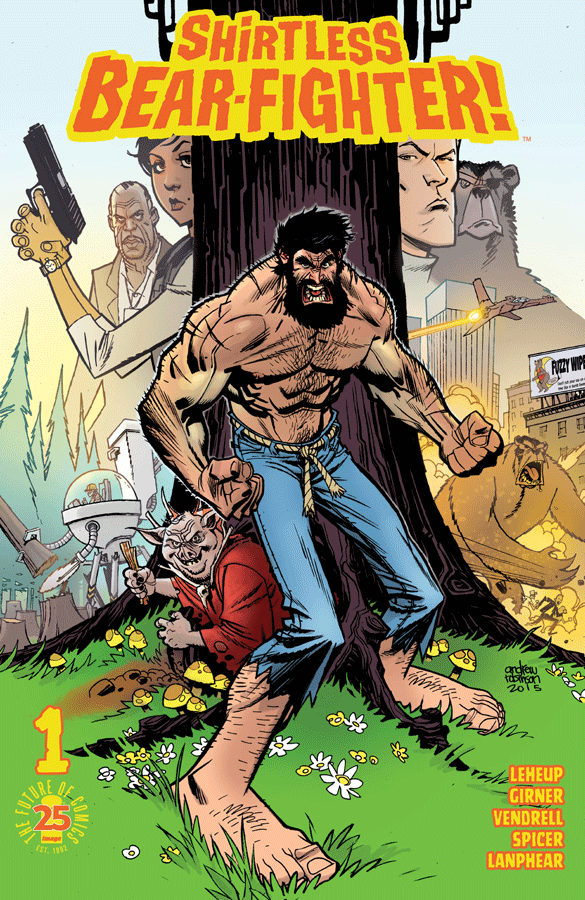 Shirtless Bear Fighter #1 Review