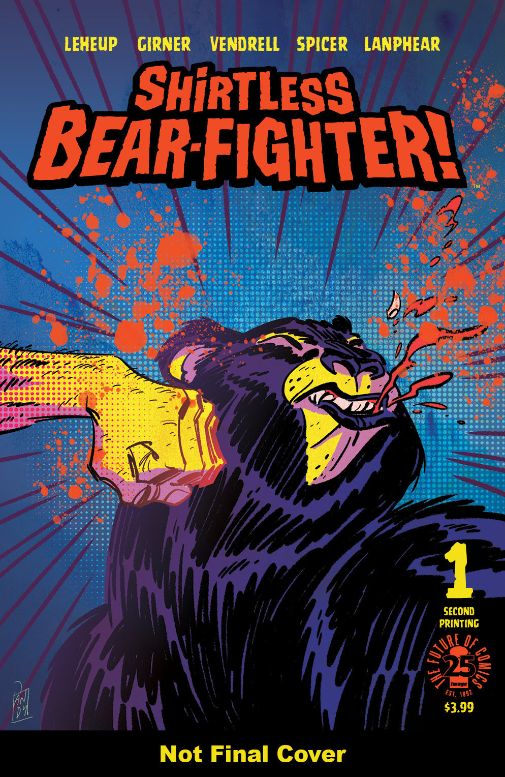 Shirtless Bear-Fighter