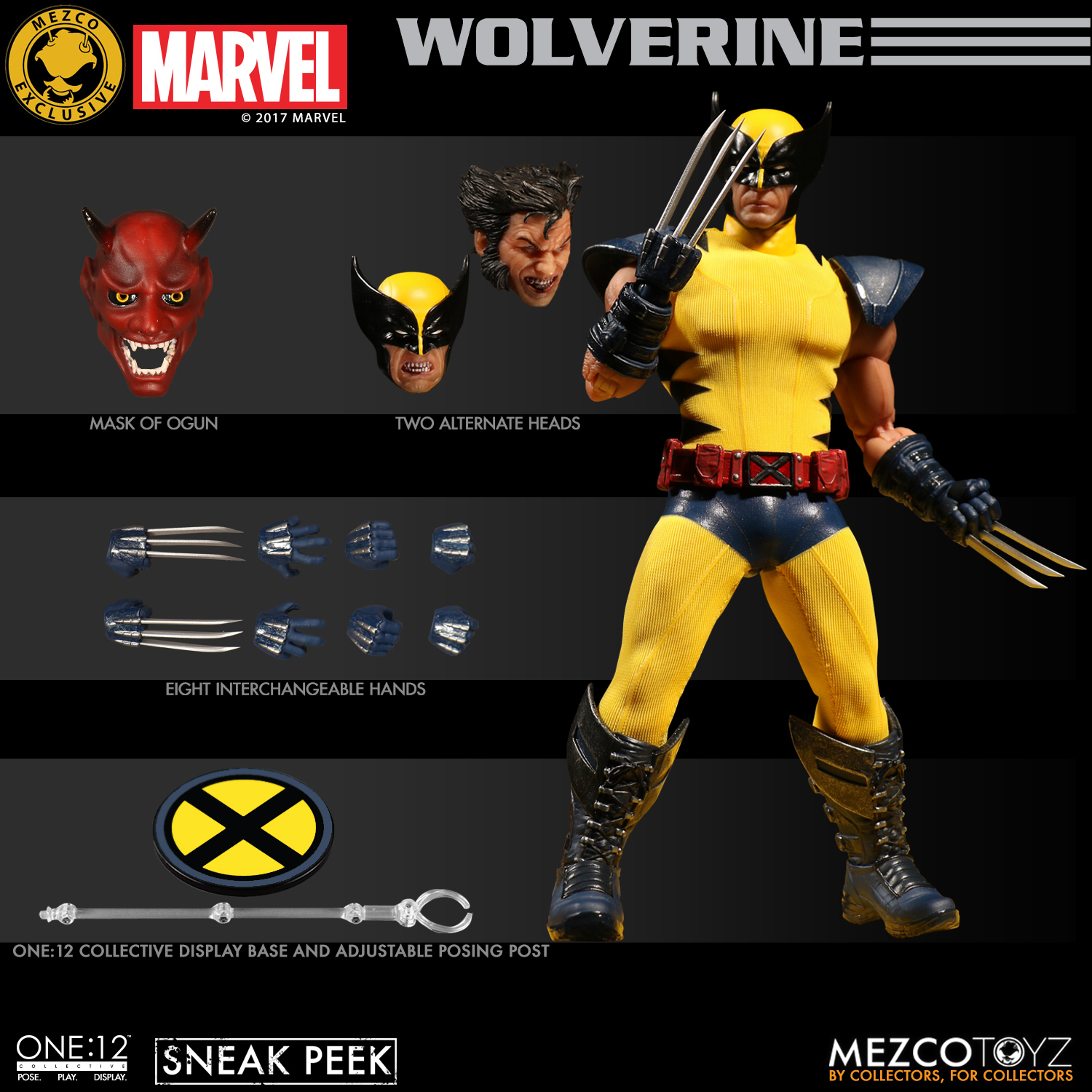 Mezco Toyz Reveals Fall 2017 Exclusive: Yellow/Blue Wolverine