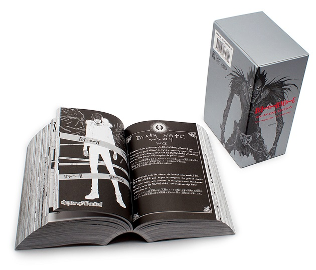 VIZ Media Announces Release of The Definitive Death Note All-In-One Edition