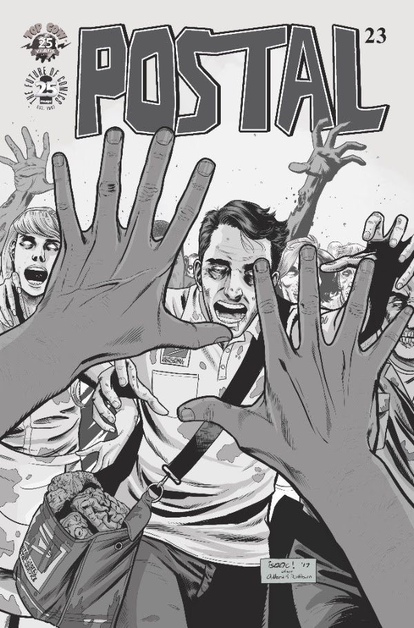 Image Comics Celebrates 25th Anniversary with B&W Versions of The Walking Dead Variant Covers