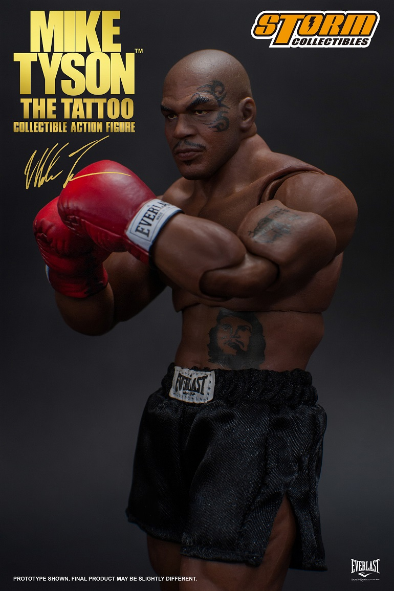"""b83d1a332 Bluefin Opens Pre-Orders for Stunningly Lifelike 1/12 Scale Mike Tyson """"The  Tattoo"""" Figure from Storm Collectibles"""