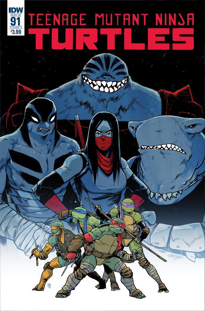 Myke Drop with Myke Fabela: Teenage Mutant Ninja Turtles #91 Review