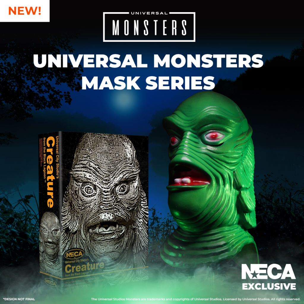 NECA Unleashes Universal Monsters with a Series of Limited-Edition Collectible Masks