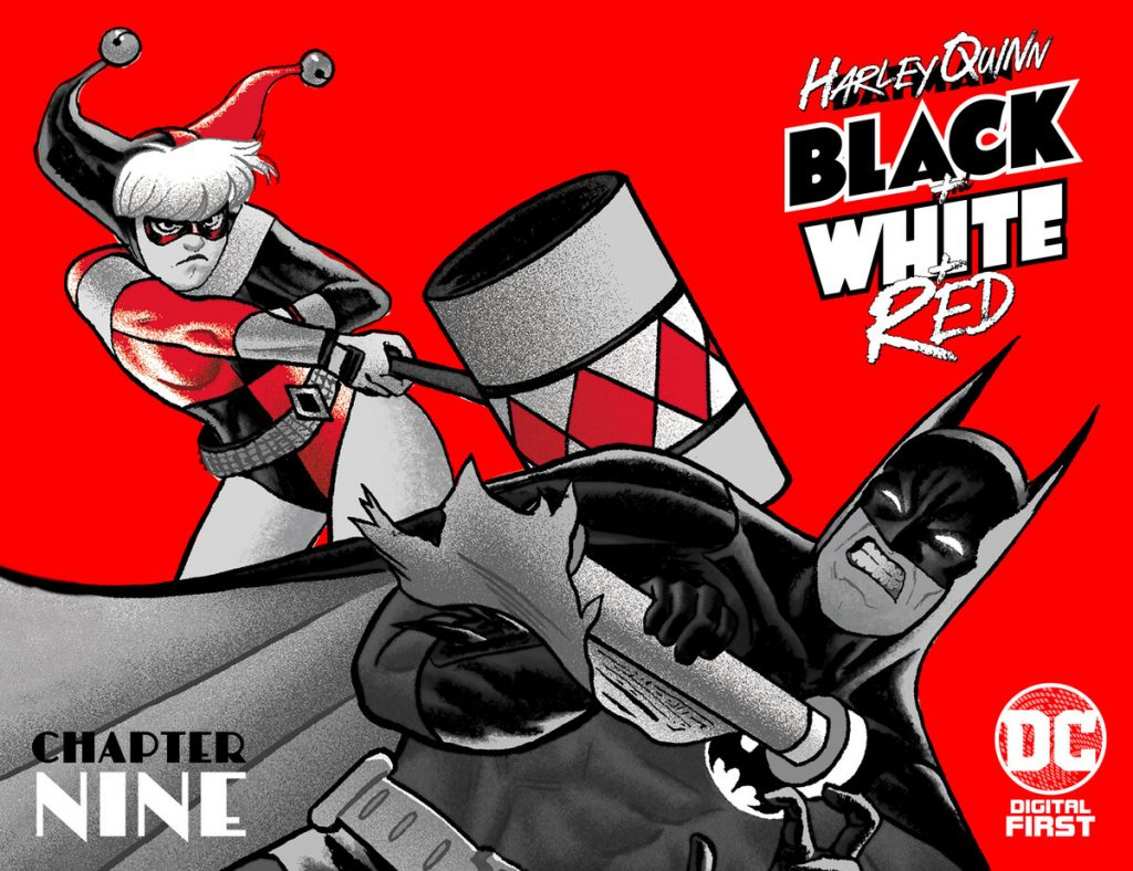 "Harley Quinn Black + White + Red Chapter Nine: ""Indiana Quinn!"""