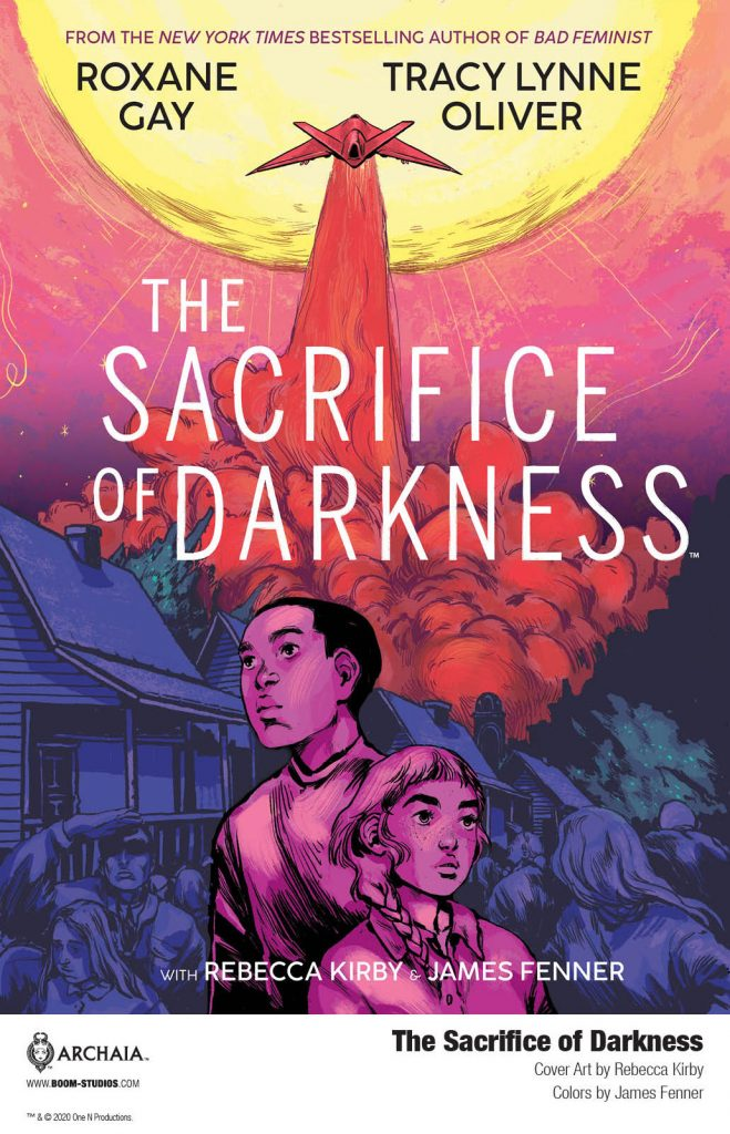 Your First Look at THE SACRIFICE OF DARKNESS Graphic Novel from BOOM! Studios