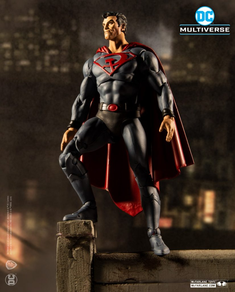 McFarlane Toys Announces New Wave, Including The Drowned, Red Son Superman and More