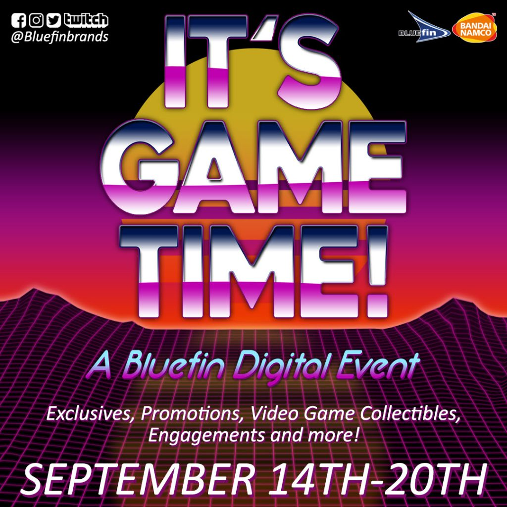 Bluefin's Digital Video Game Event Continues