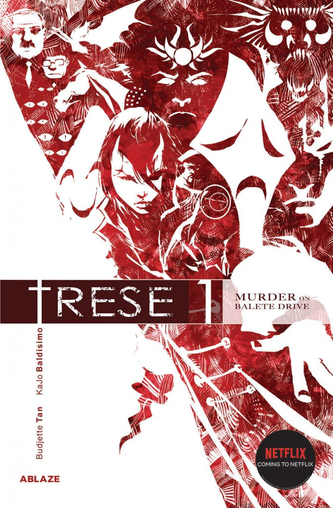 ABLAZE helps celebrate Filipino American History Month with comic book (and soon-to-be Netflix anime) series TRESE!