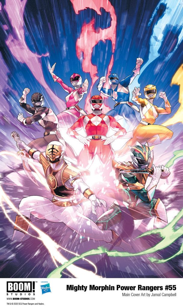 First Appearance of The New Green Ranger in Mighty Morphin Power Rangers #55