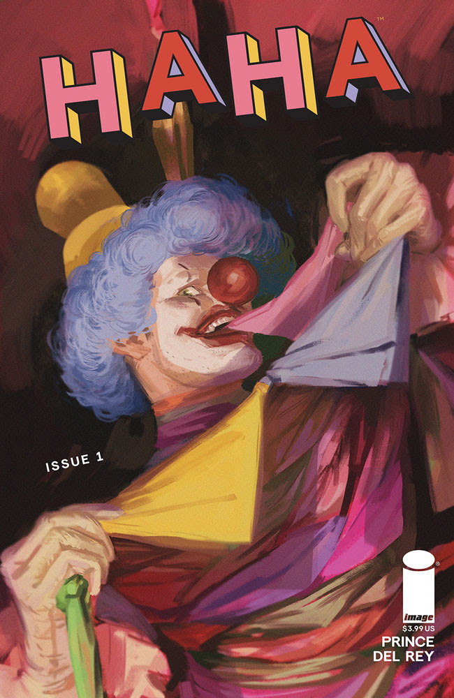 Ice Cream Man Writer W. Maxwell Prince to Launch a New White Hot Anthology Comic-HaHa- At Image Comics this January
