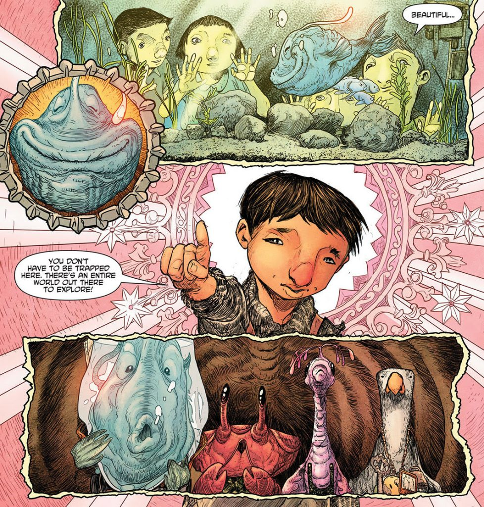Extra-Fishy First Look: Bad Idea's WHALESVILLE #1 Has 1000% More Pictures Than Moby Dick and Almost As Much Whale