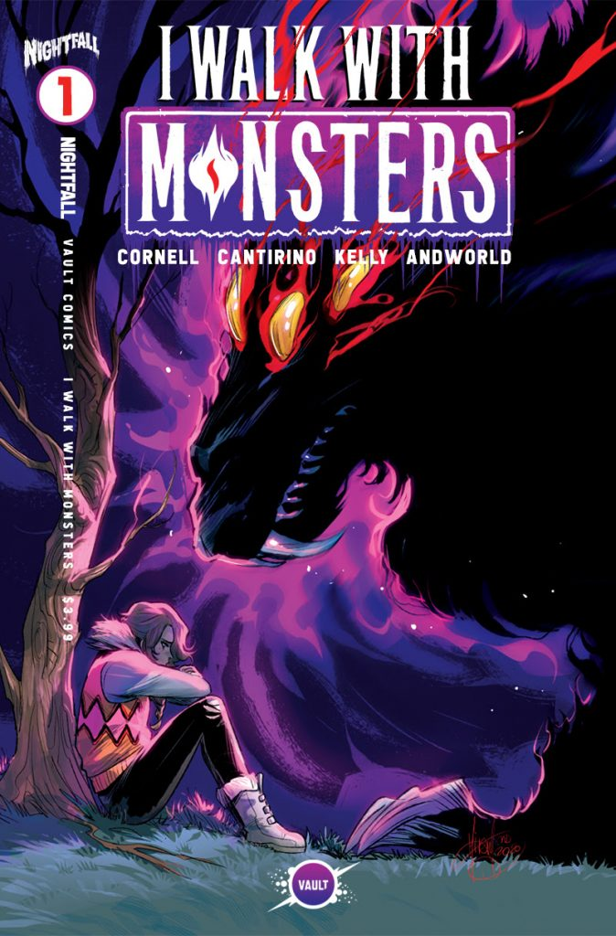 VAULT ANNOUNCES GORGEOUS NEW MIRKA ANDOLFO INCENTIVE COVERS FOR I WALK WITH MONSTERS #1